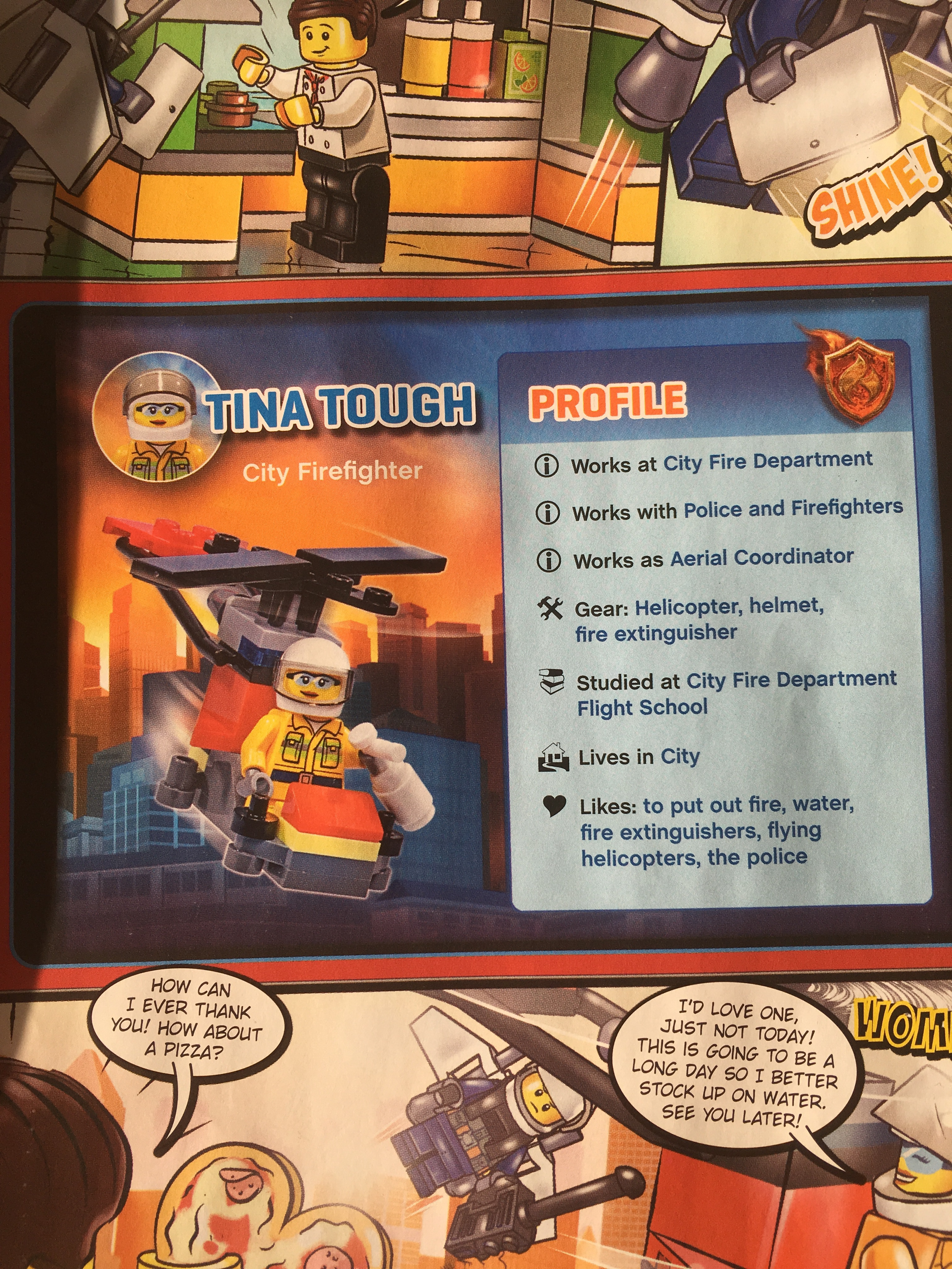Page from Lego City Magazine Issue 15