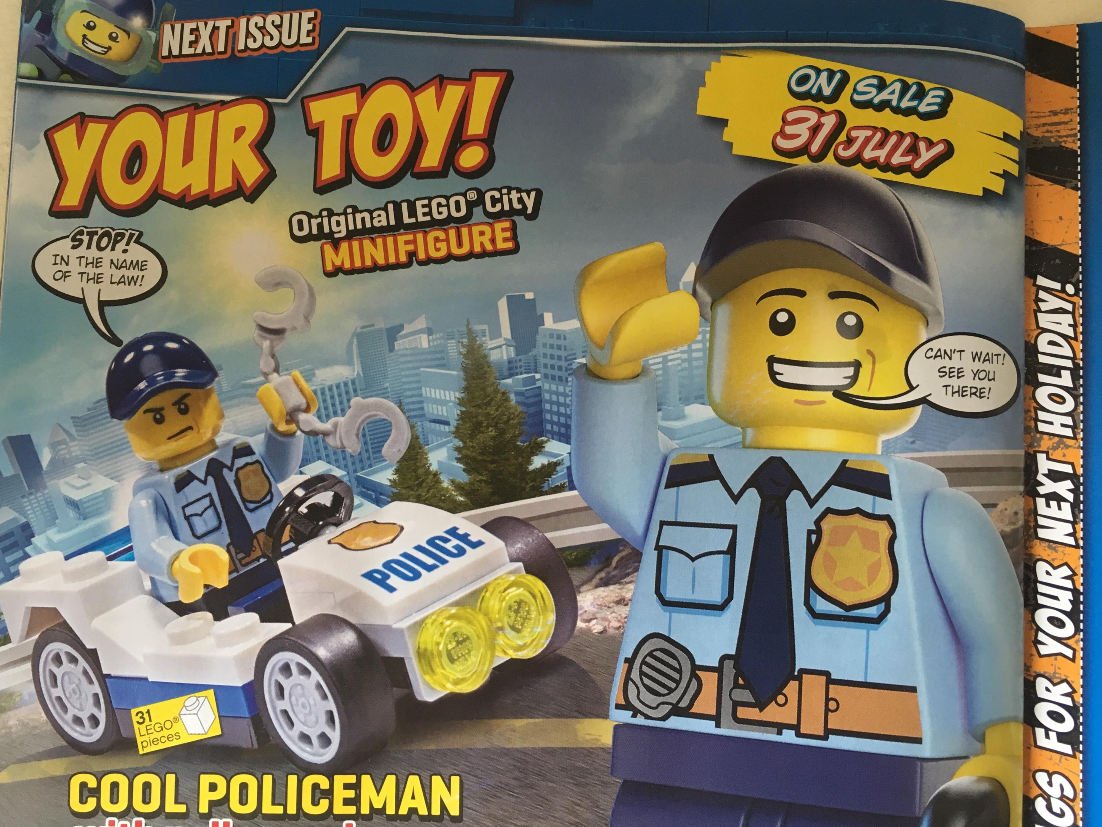 Free LEGO toy with LEGO City Magazine Issue 17