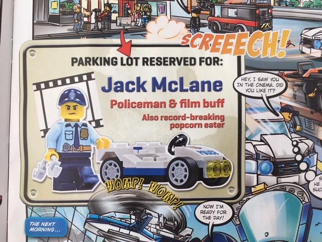 Lego City Magazine Issue 17 Minifigure Jack McLane