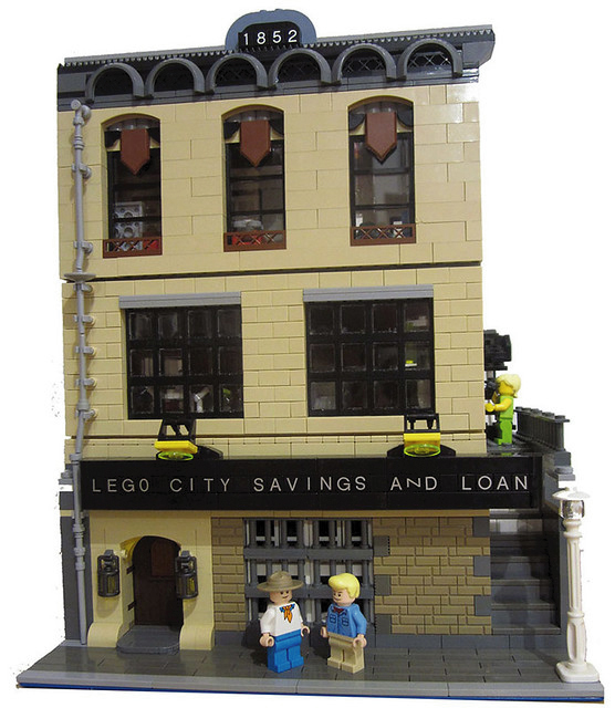 Exterior picture of LEGO MOC Savings and Load by Patrick