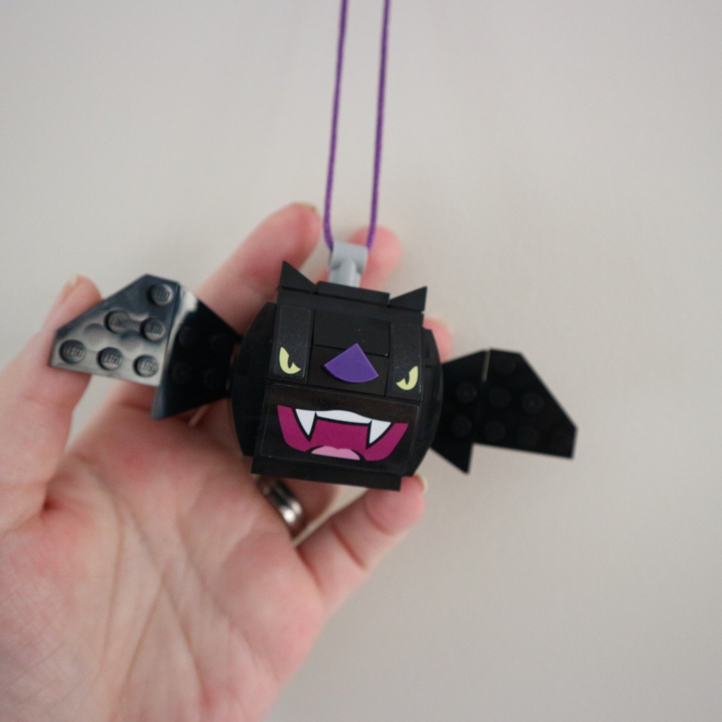 Lego Bat Ornament